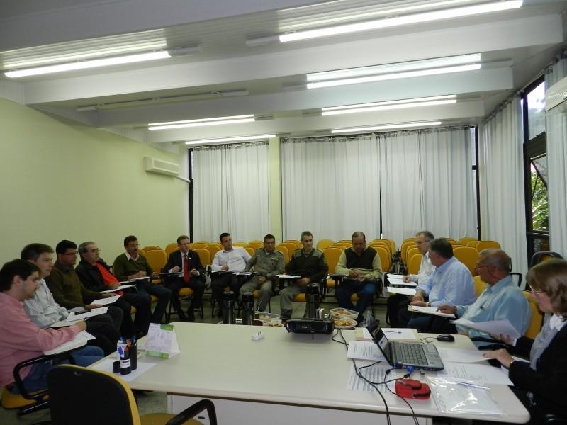Foto de capa da notícia: Bancos participaram da Reunião da Segurança