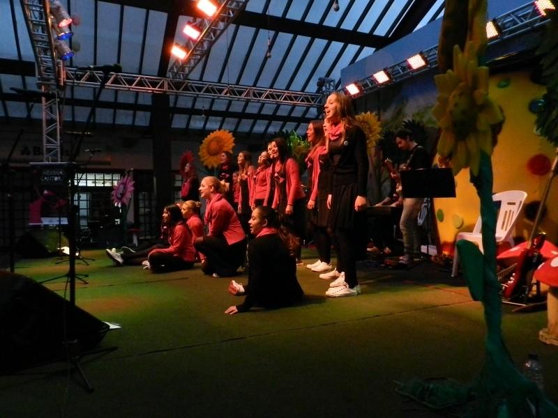 Foto de capa da notícia: Praça das Flores teve show de vozes e performances