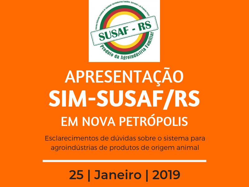 Foto de capa da notícia: Nova Petrópolis promove encontro de apresentação do SUSAF/RS
