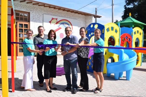 Foto de capa da notícia: Prefeitura e ACPM investem na E.M.E.I. Construindo O Saber
