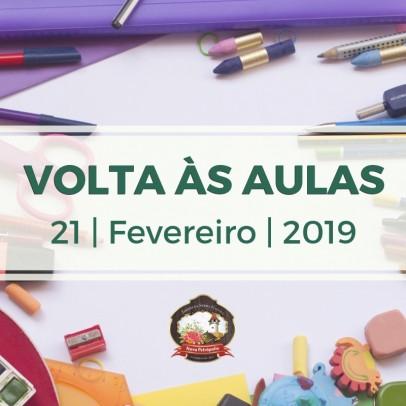 Foto de capa da notícia: Nova Petrópolis volta às aulas dia 21 de fevereiro de 2019