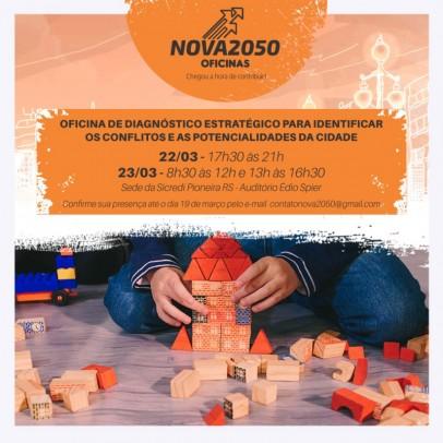 Foto de capa da notícia: Nova Petrópolis inicia planejamento estratégico até 2050 de forma colaborativa