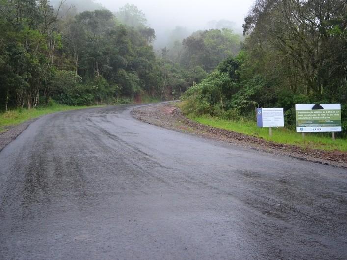 Foto de capa da notícia: Sinalizado envio de recursos para pavimentação total do Acesso ao Ninho das Águias