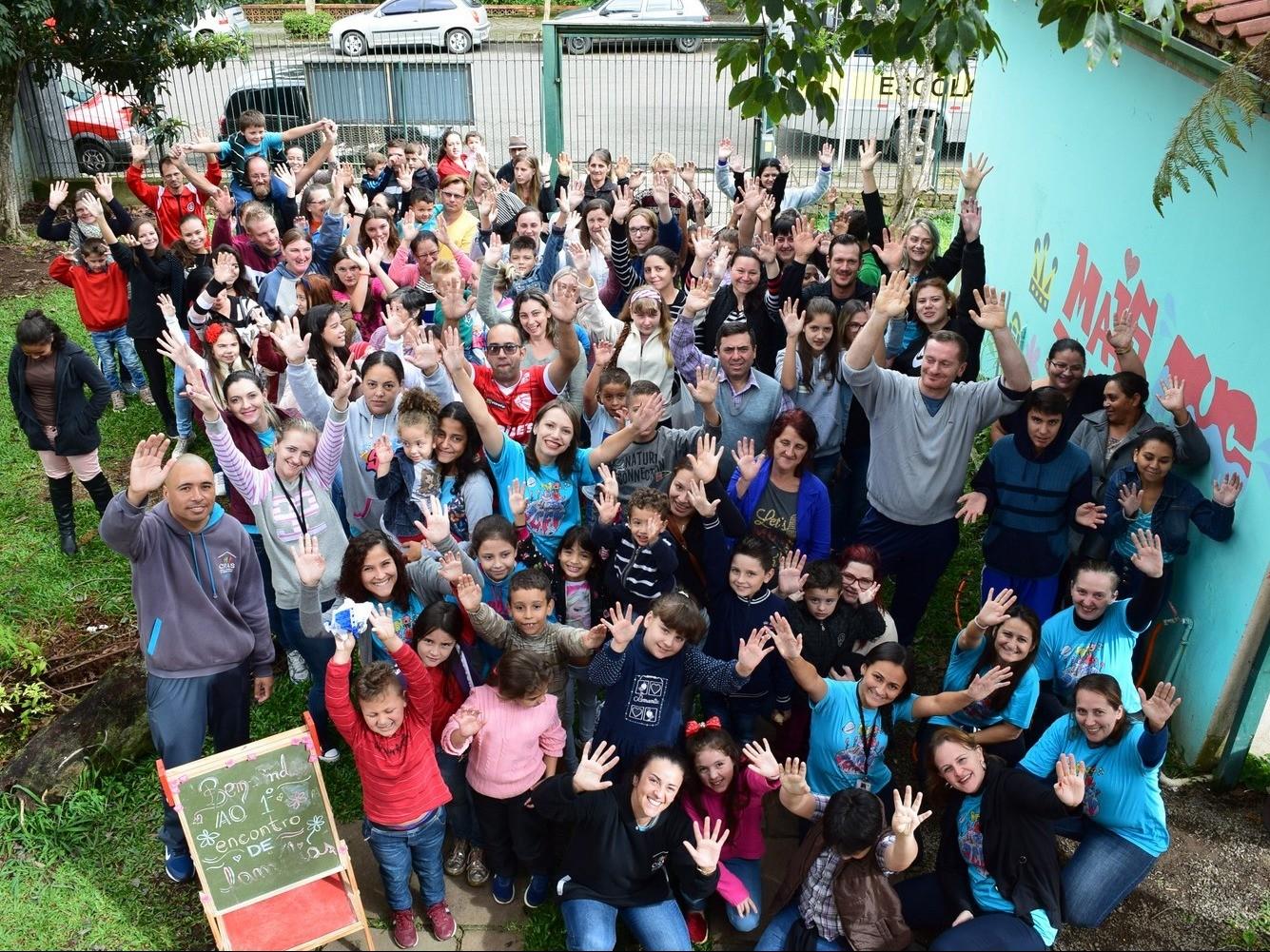 Foto de capa da notícia: SCFV realiza 1º Encontro de Famílias de 2019 em Nova Petrópolis