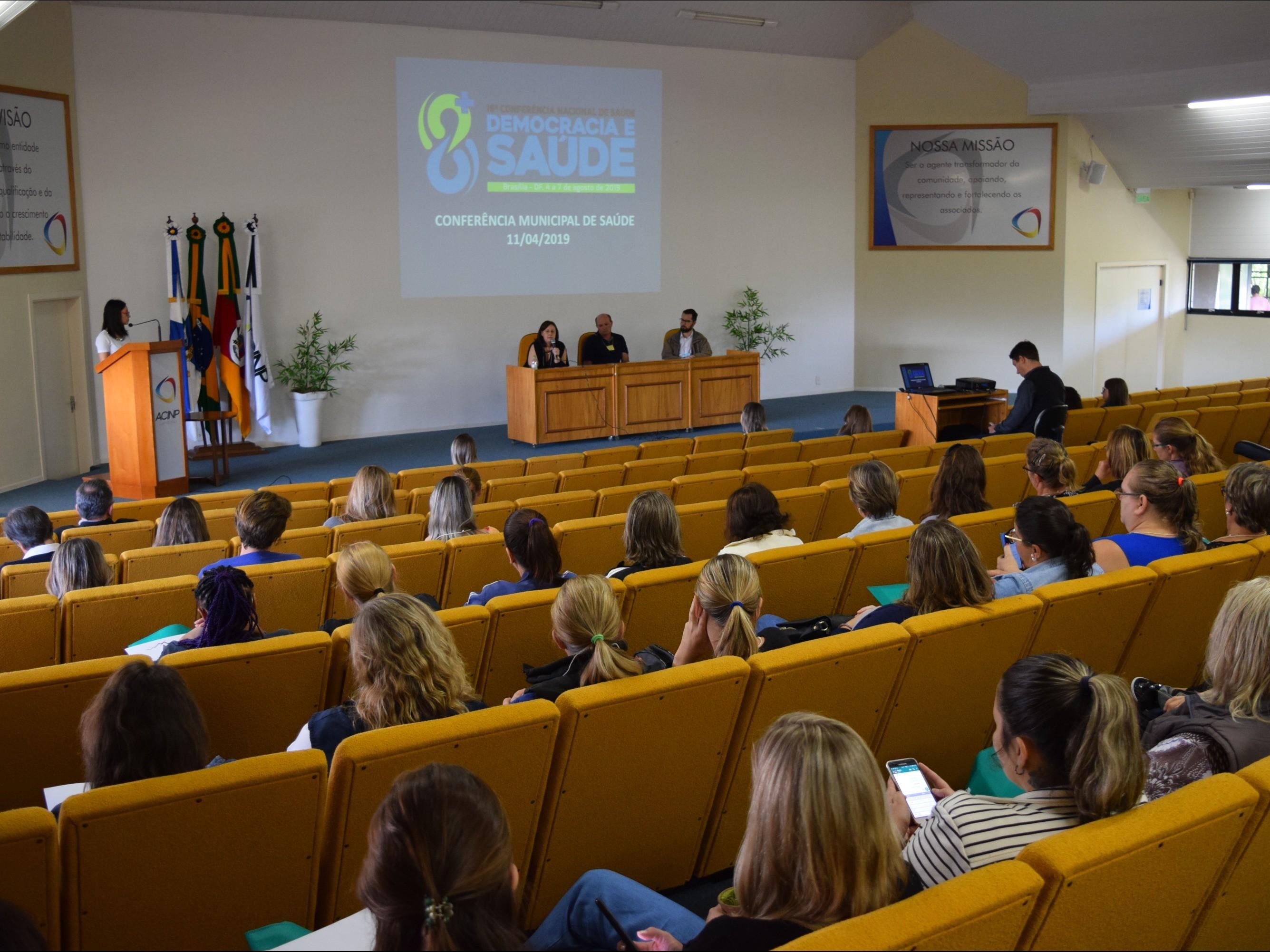 Foto de capa da notícia: Nova Petrópolis realiza Conferência Municipal de Saúde