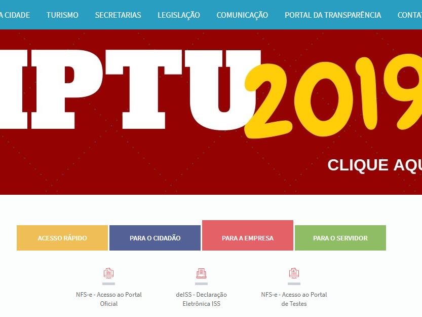 Foto de capa da notícia: Serviços online do site da Prefeitura ficarão temporariamente indisponíveis
