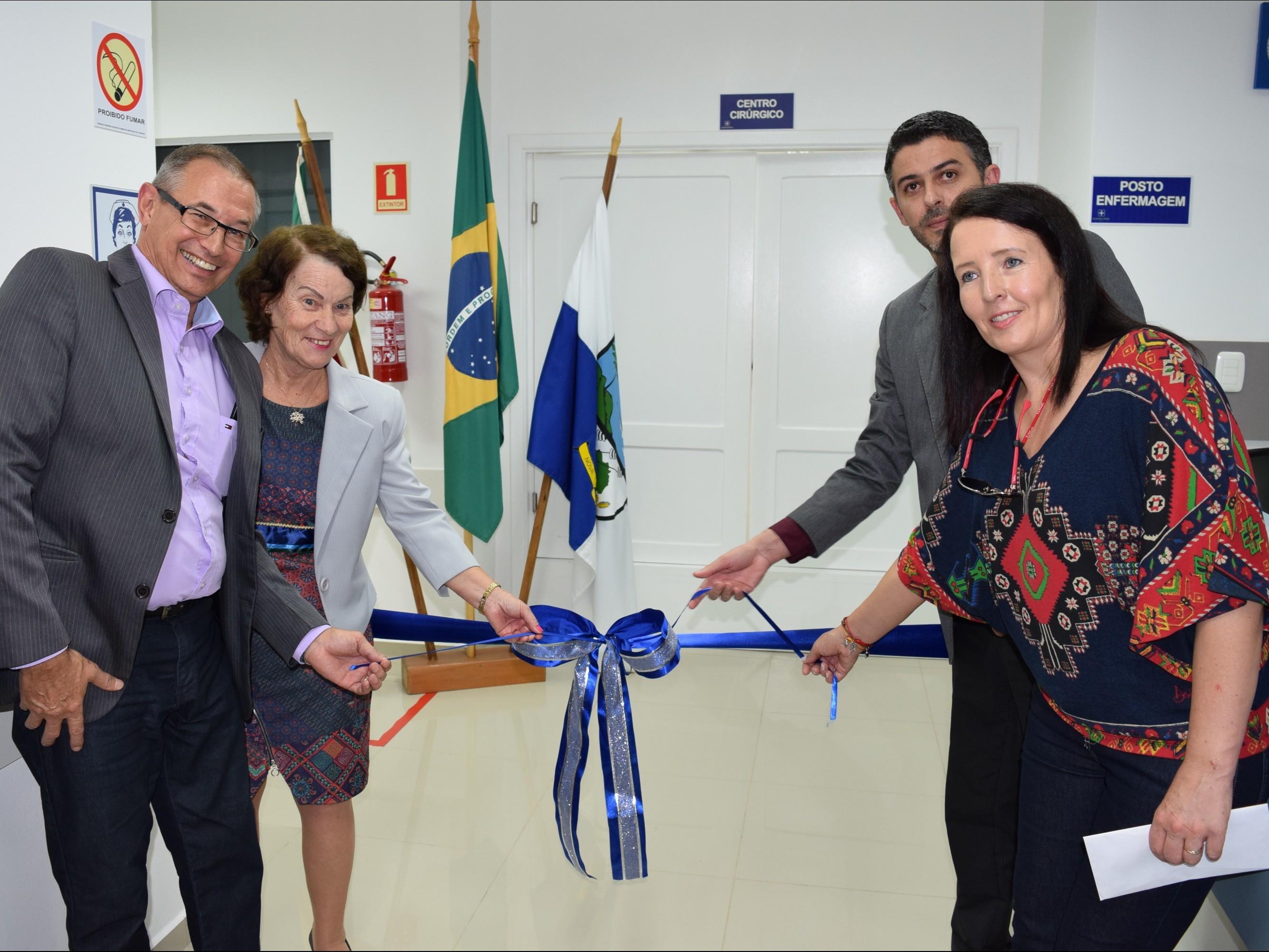Foto de capa da notícia: Bloco Cirúrgico do Hospital Nova Petrópolis é inaugurado