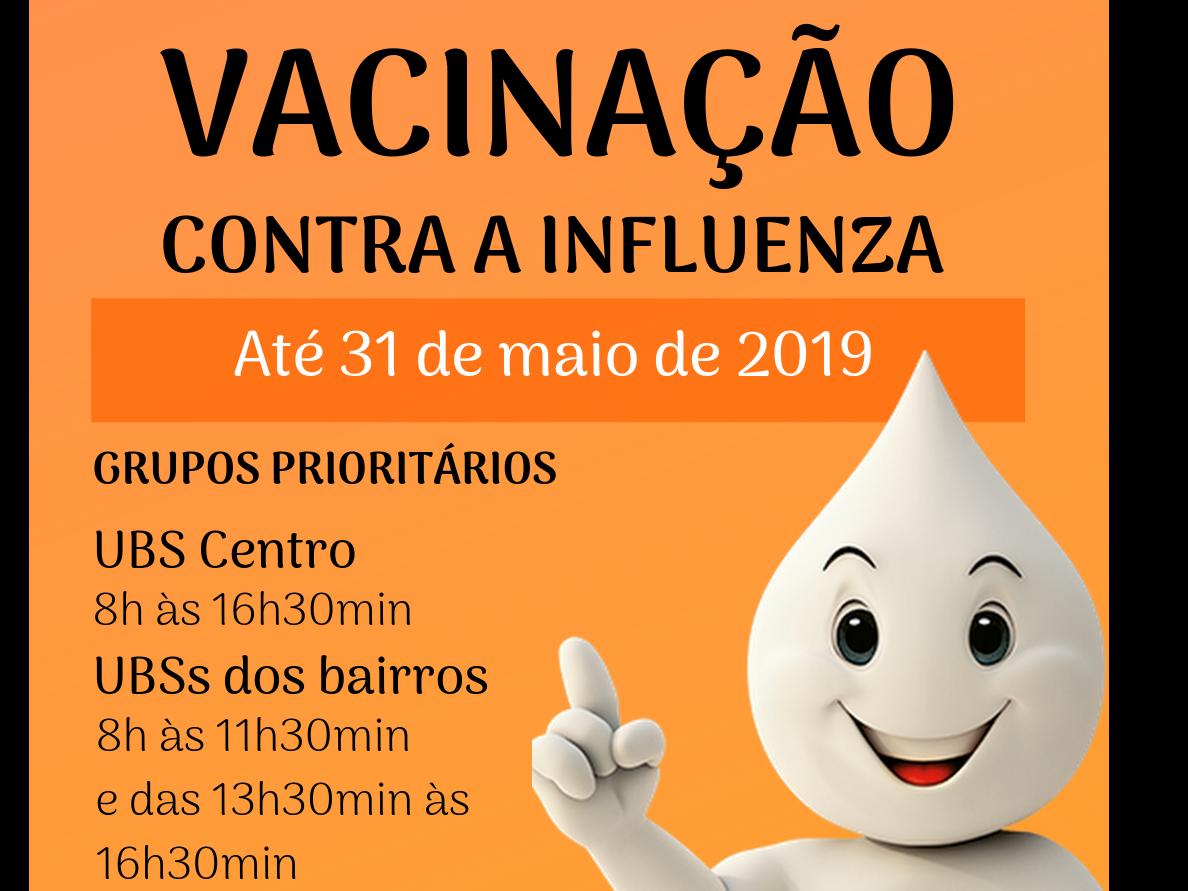 Foto de capa da notícia: Vacinação contra a Influenza prossegue até 31 de maio