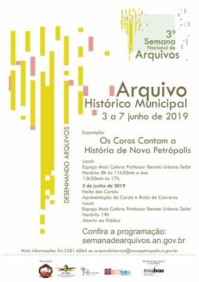 """Foto de capa da notícia: Nova Petrópolis promove exposição """"Os Coros Cantam a História de Nova Petrópolis"""" de 3 a 7 de junho"""