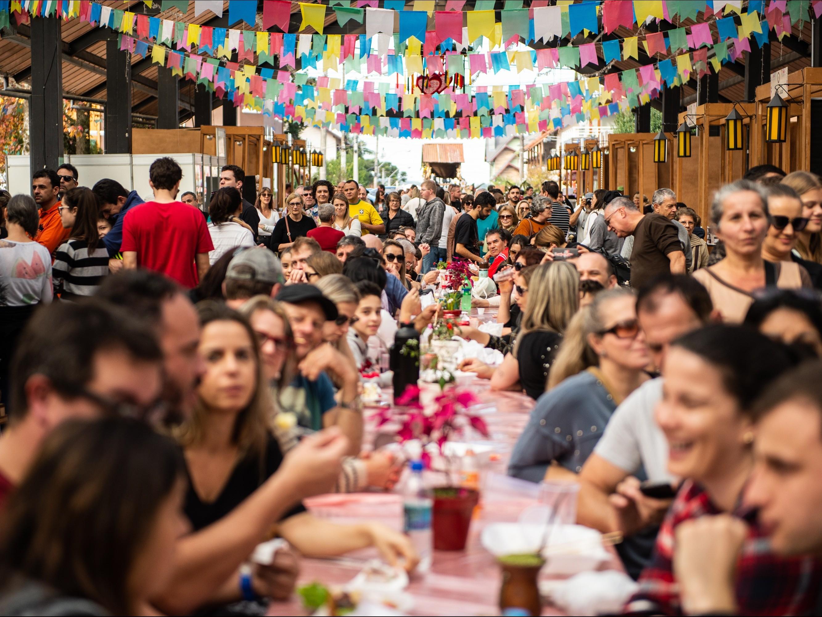 Foto de capa da notícia: Primeiro fim de semana do Festival Sabores da Colônia movimenta Nova Petrópolis