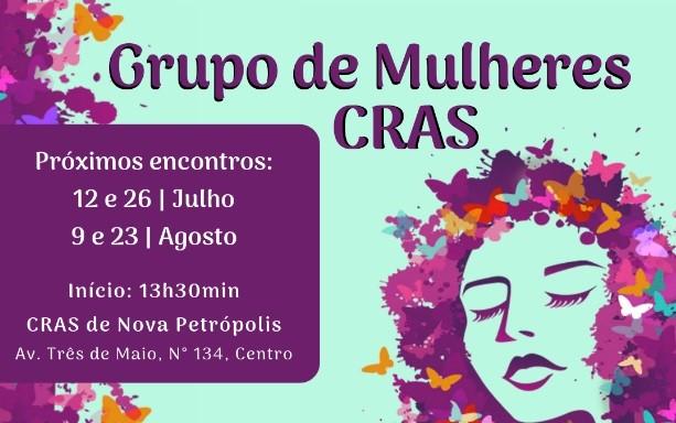 Foto de capa da notícia: CRAS de Nova Petrópolis divulga temas dos encontros do Grupo de Mulheres