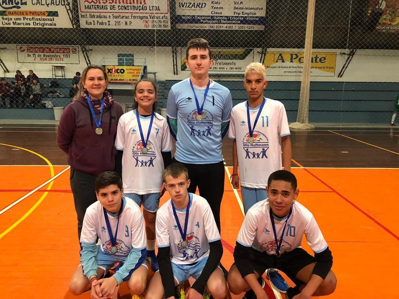 Foto de capa da notícia: Futsal mobilizou estudantes de Nova Petrópolis nos dias 15 e 16 de julho