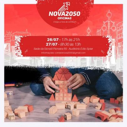 Foto de capa da notícia: Movimento Nova2050 divulga datas das últimas oficinas