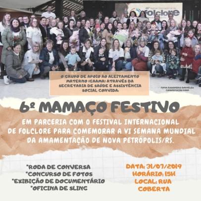 Foto de capa da notícia: Nova Petrópolis promove o 6º Mamaço Festivo na Rua Coberta