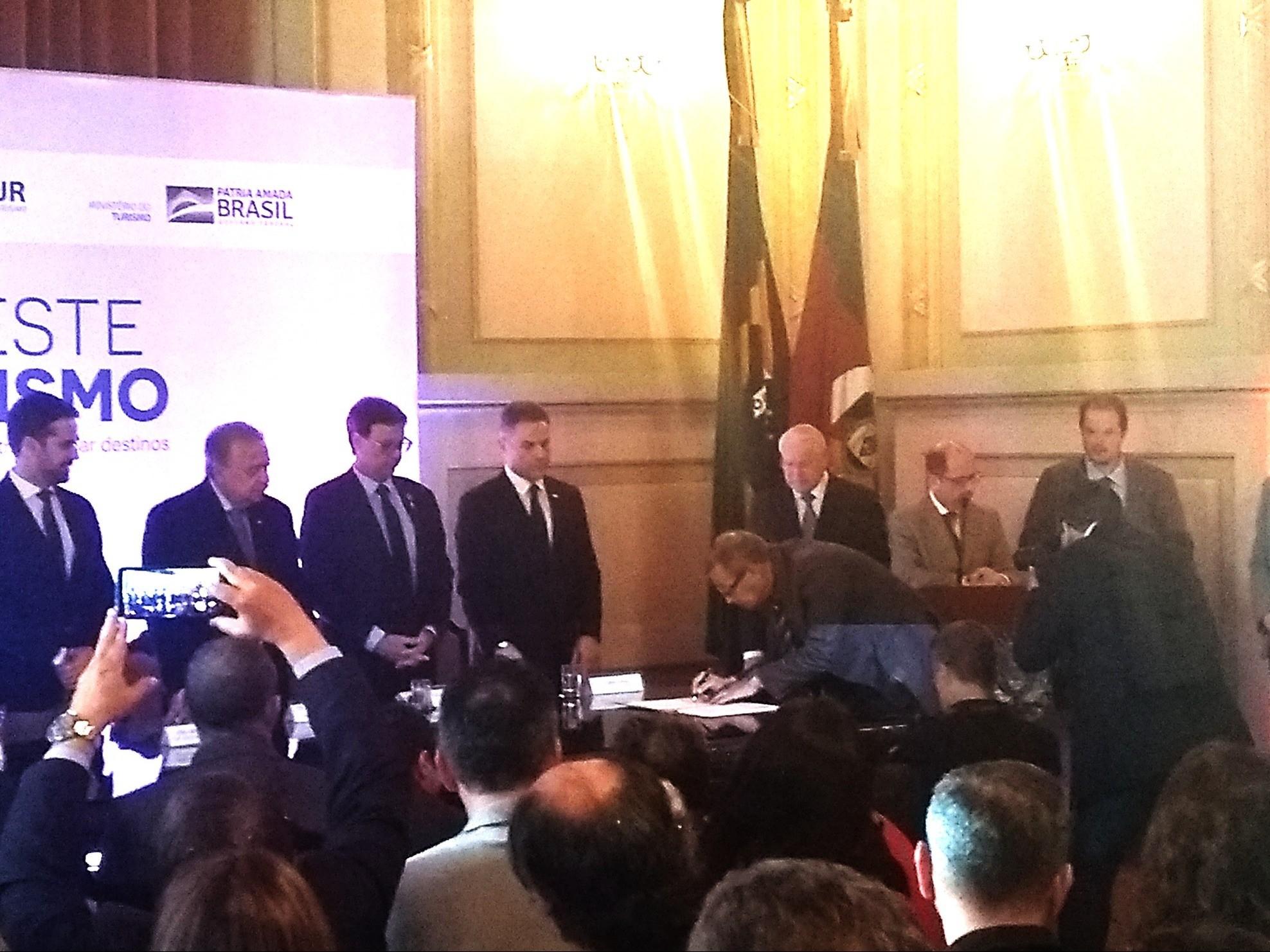 Foto de capa da notícia: Nova Petrópolis presente no lançamento do Investe Turismo e +Turismo.RS