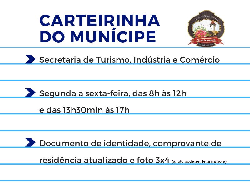 Foto de capa da notícia: Carteirinha do munícipe é produzida na Secretaria de Turismo, Indústria e Comércio
