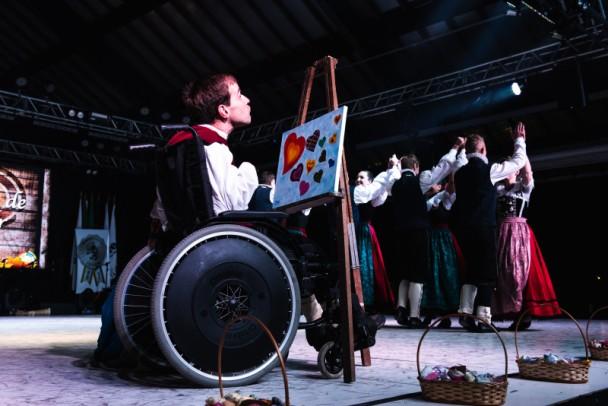 Foto de capa da notícia: Inclusão foi destaque do 47º Festival Internacional de Folclore