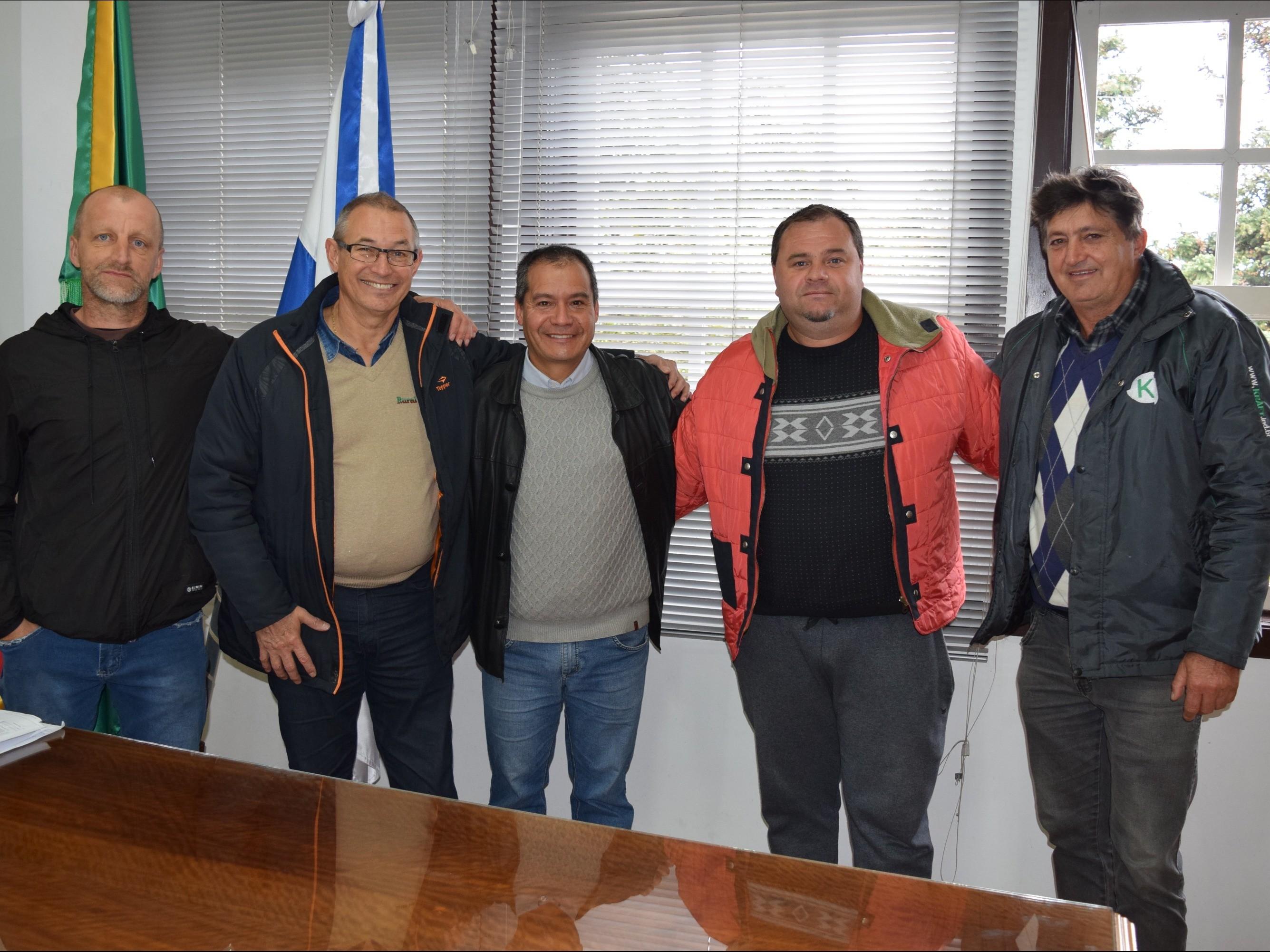 Foto de capa da notícia: Oraci de Freitas reassume a Secretaria de Obras de Nova Petrópolis