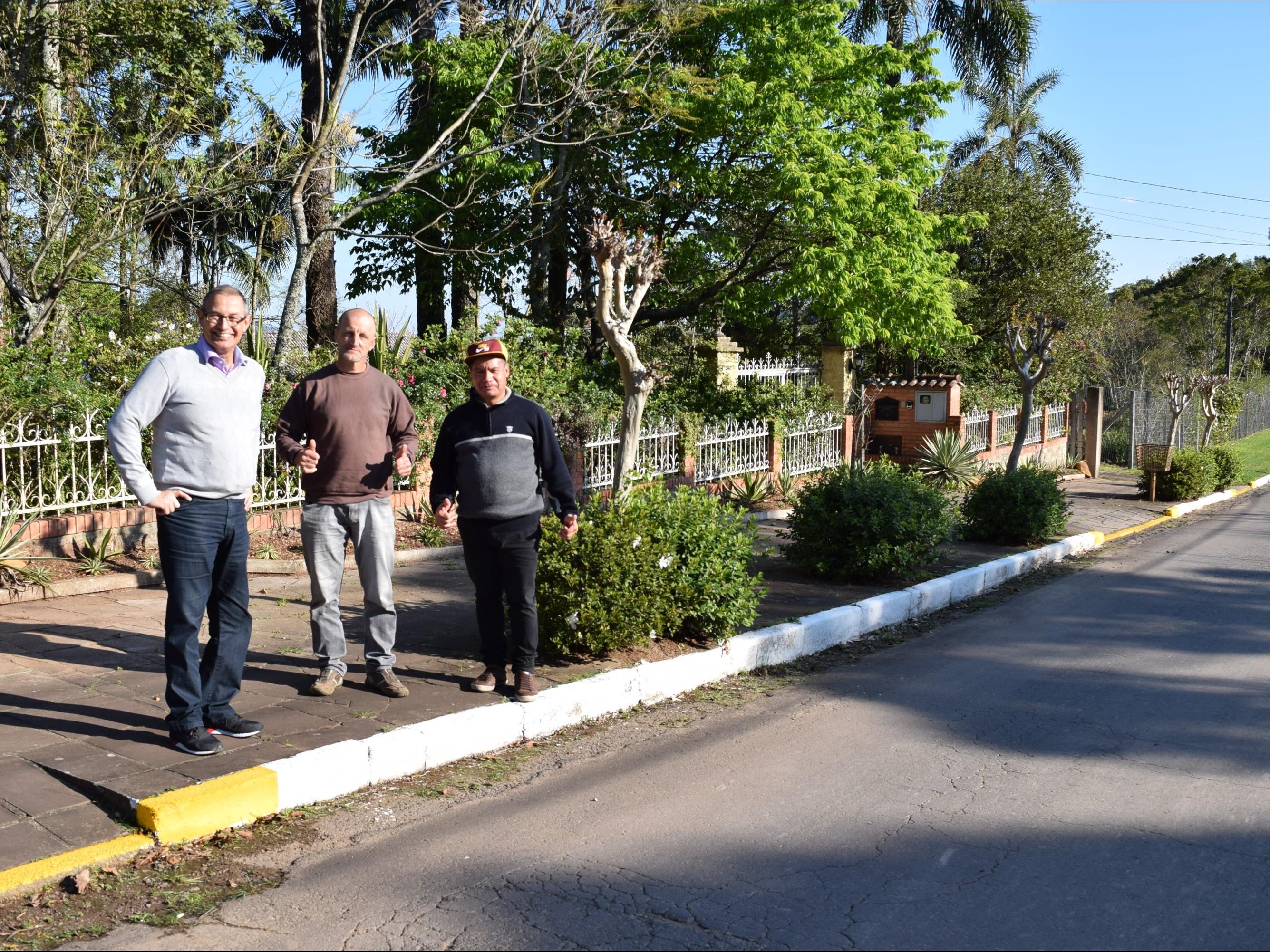 Foto de capa da notícia: Bairros e localidades de Nova Petrópolis recebem melhorias