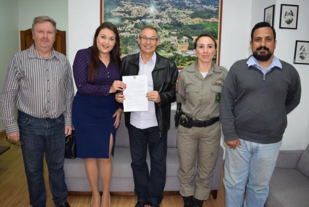 Foto de capa da notícia: Videomonitoramento será aperfeiçoado em Nova Petrópolis