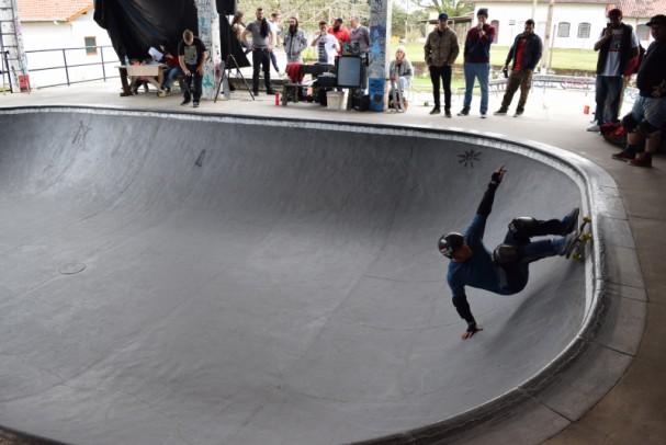 Foto de capa da notícia: Pista de Nova Petrópolis sedia Girino Skate Session