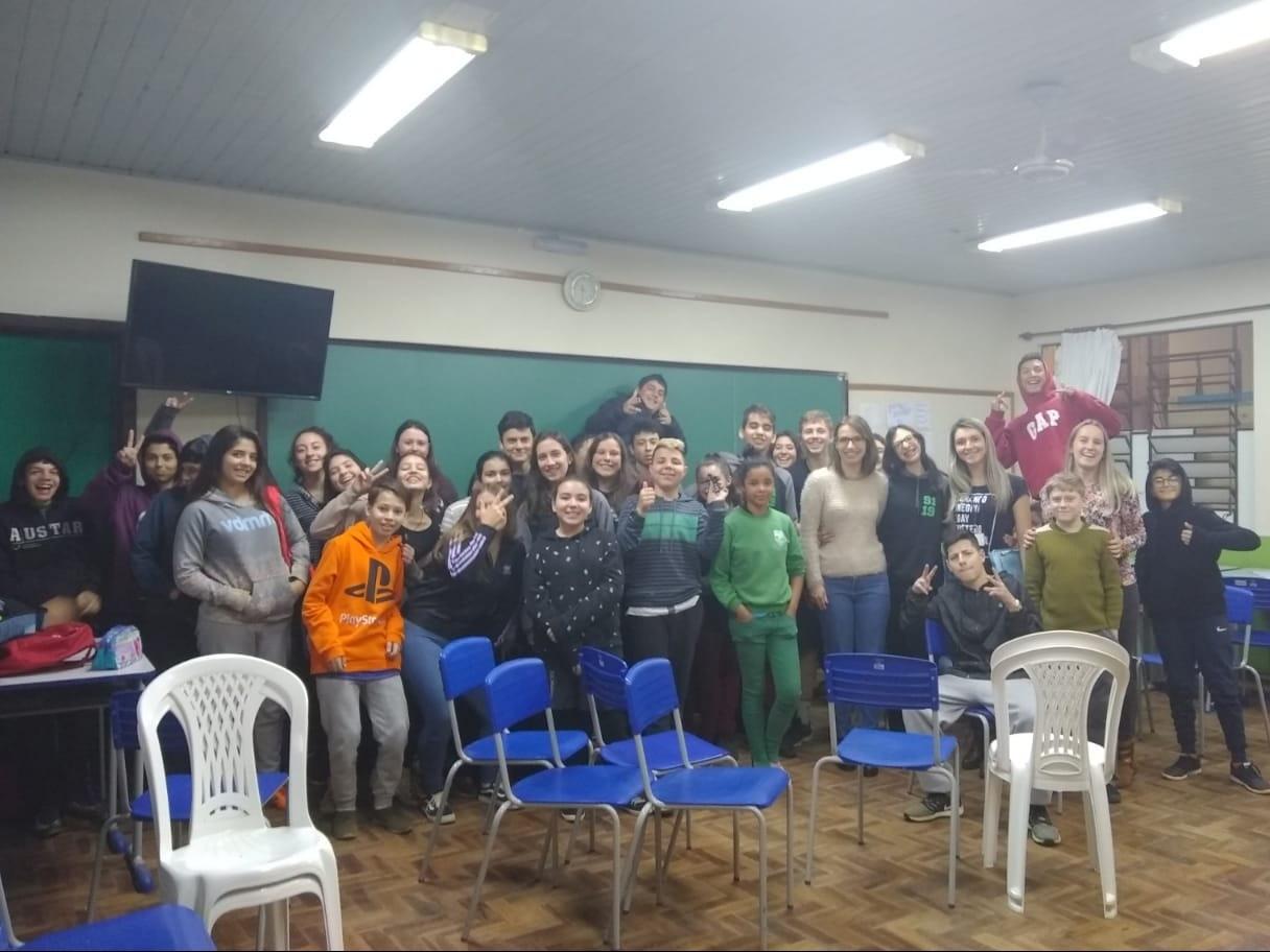 Foto de capa da notícia: Drogas e sexualidade são temas de atividades realizadas em Nova Petrópolis