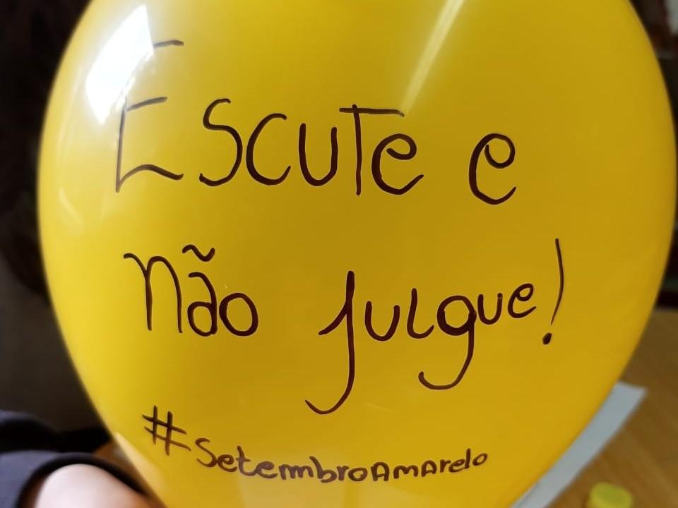 Foto de capa da notícia: Setembro Amarelo mobiliza Nova Petrópolis em prol da vida