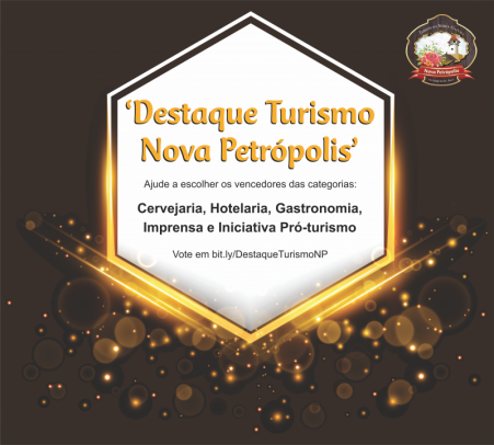 """Foto de capa da notícia: Nova Petrópolis lança prêmio """"Destaque Turismo"""" e voto popular elegerá cinco vencedores"""