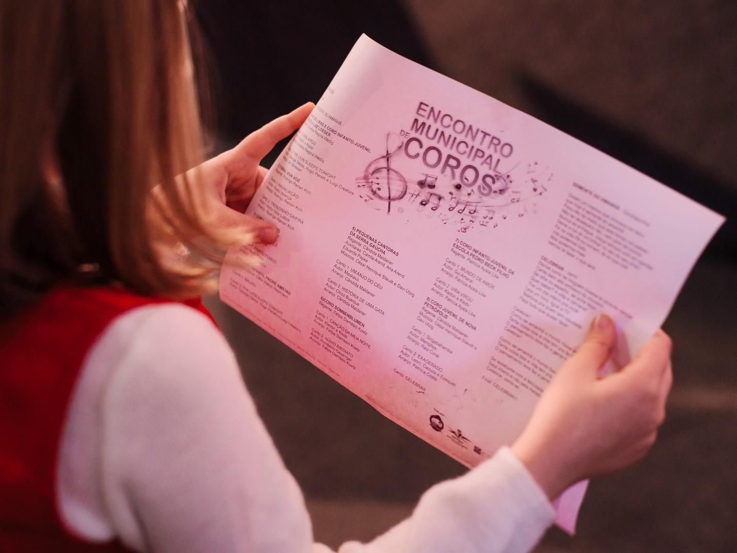 Foto de capa da notícia: 2ª etapa do 39º Encontro Municipal de Coros ocorre dia 28 de setembro