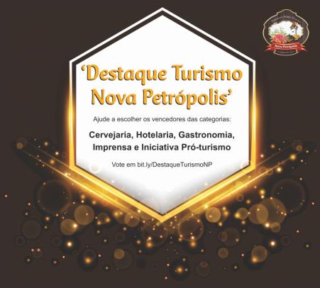 """Foto de capa da notícia: Últimos dias para votar no prêmio """"Destaque Turismo Nova Petrópolis"""""""