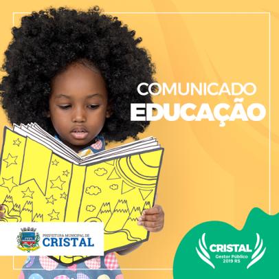Foto de capa da notícia: Matrículas da rede Municipal de Ensino