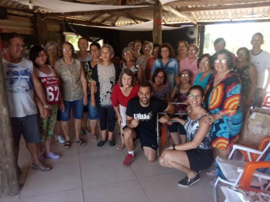 Foto de capa da notícia: Confraternização do Serviço de Convivência e Fortalecimento de Vínculos da terceira idade do CRAS