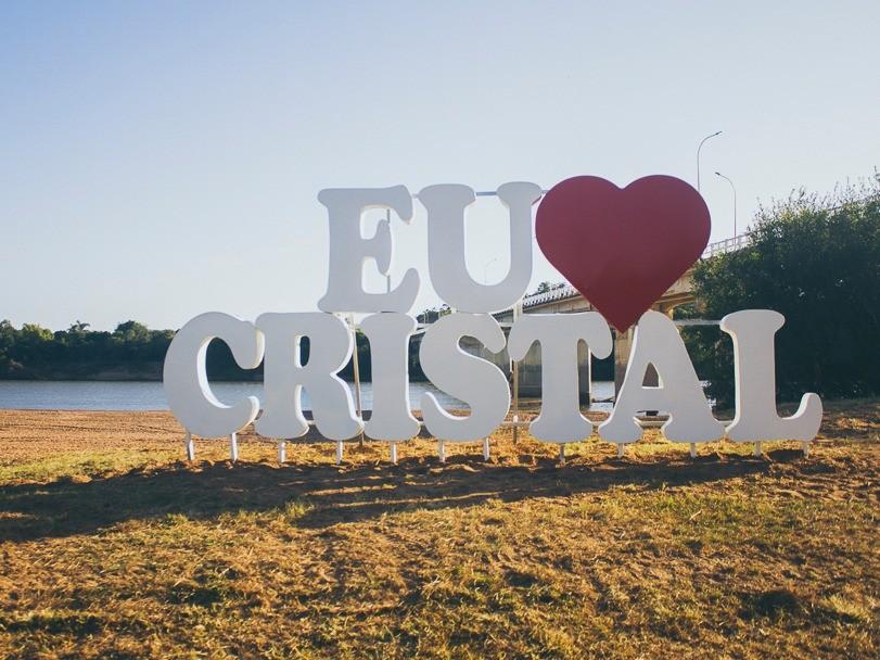 """Foto de capa da notícia: """"Eu amo Cristal"""""""