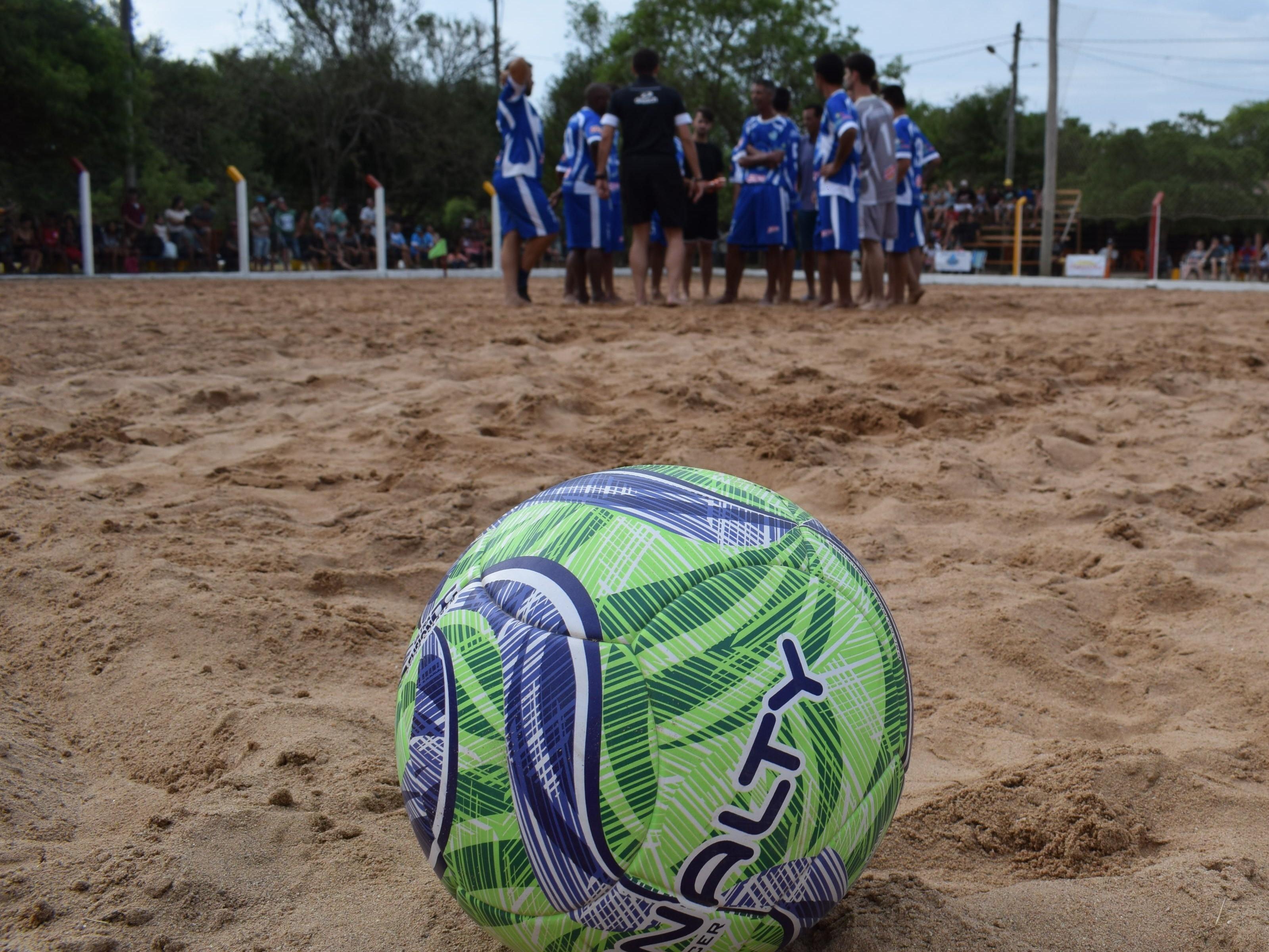 Foto de capa da notícia: 2ª rodada do Campeonato Praiano