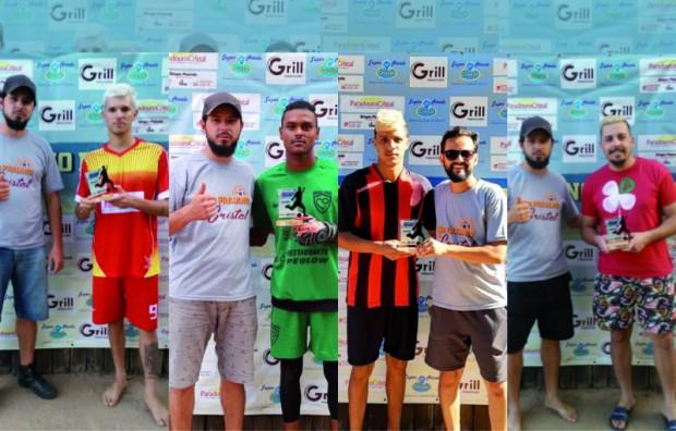 Foto de capa da notícia: Craques das Rodadas de janeiro do campeonato Praiano