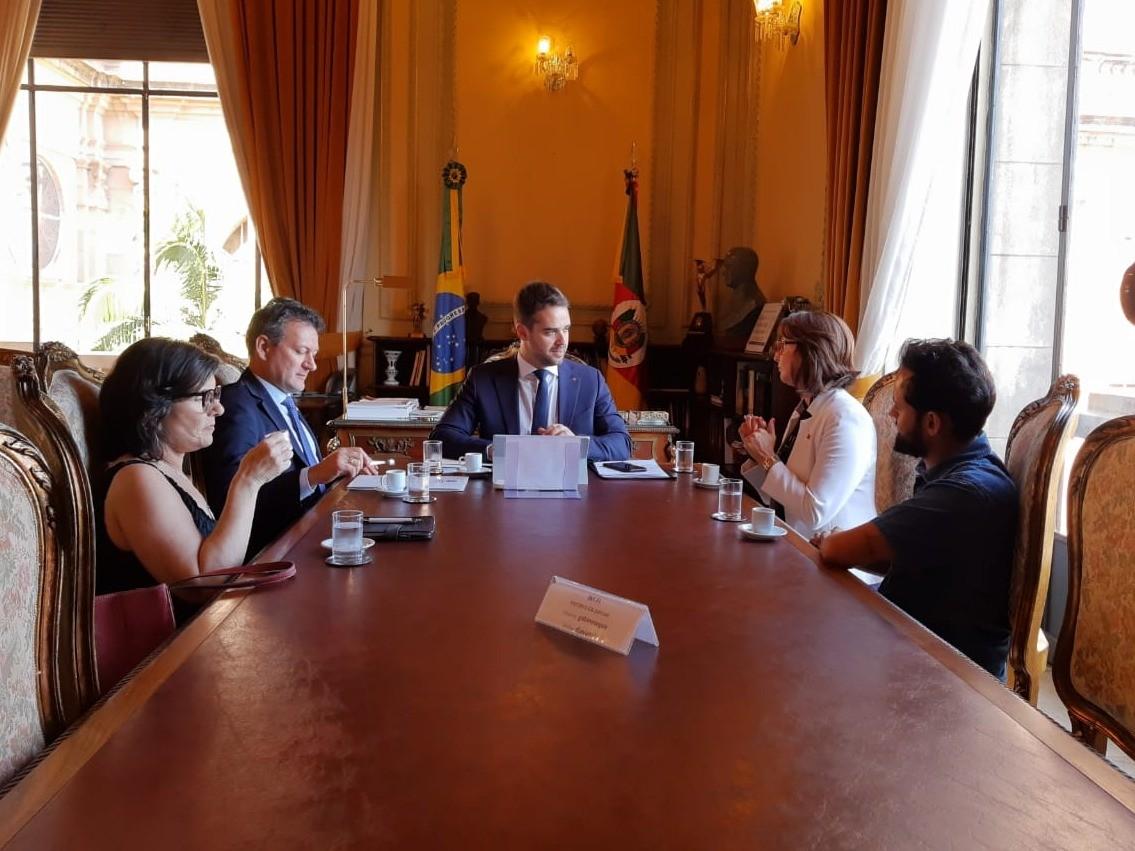 Foto de capa da notícia: Reunião sobre o Parque Histórico Bento Gonçalves da Silva