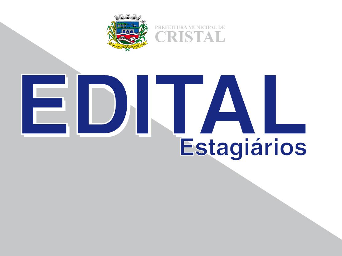 Foto de capa da notícia: Edital para seleção de estagiários da Prefeitura