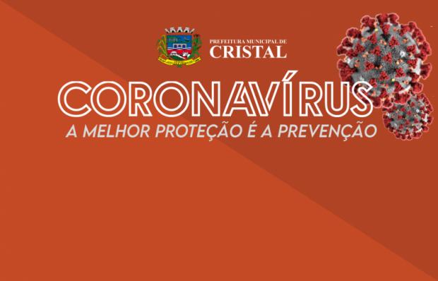 Foto de capa da notícia: Coronavírus - Cristal decreta Estado de Calamidade Pública