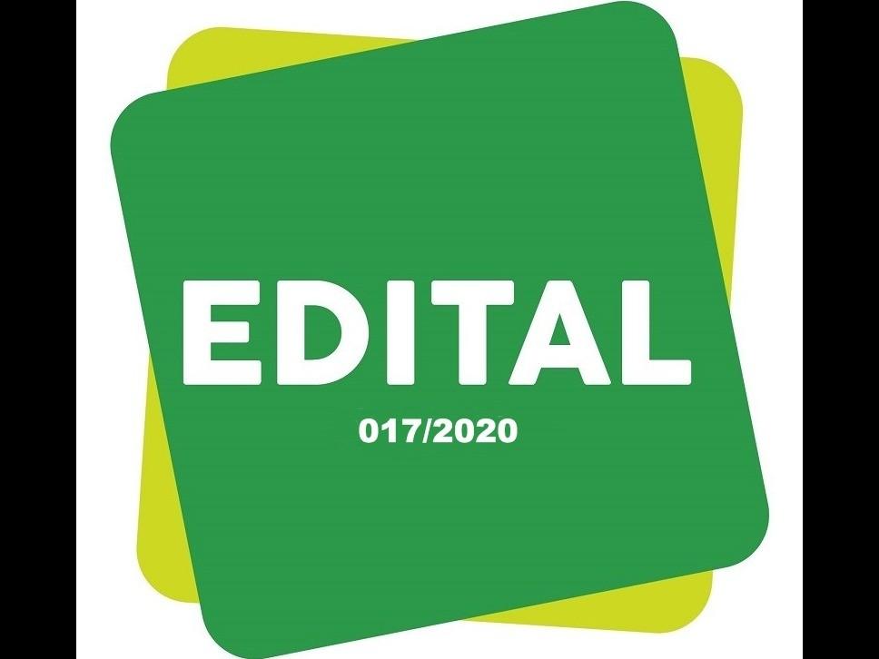 Foto de capa da notícia: Edital nº 017/2020
