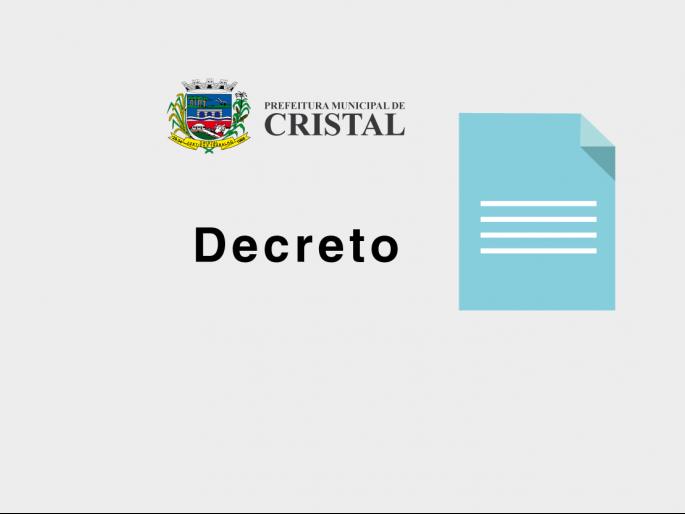 Foto de capa da notícia: Decreto nº 2658, 22 de abril de 2020.