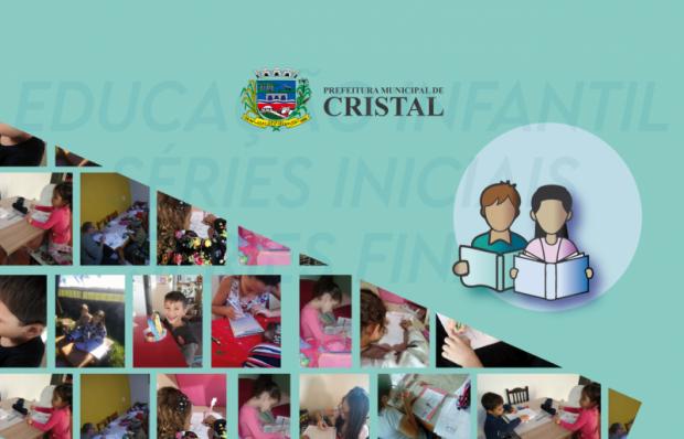 Foto de capa da notícia: As aulas não presenciais de Cristal estão alinhadas ao parecer do CNE