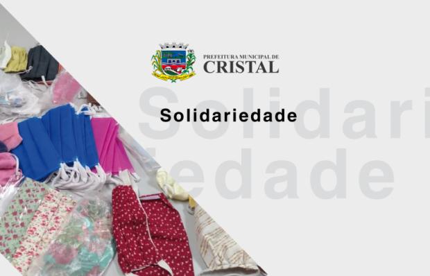 Foto de capa da notícia: Projeto Social do CIEP doa 80 máscaras