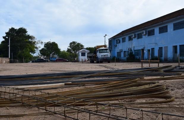 Foto de capa da notícia: Início das obras do novo prédio da Prefeitura Municipal