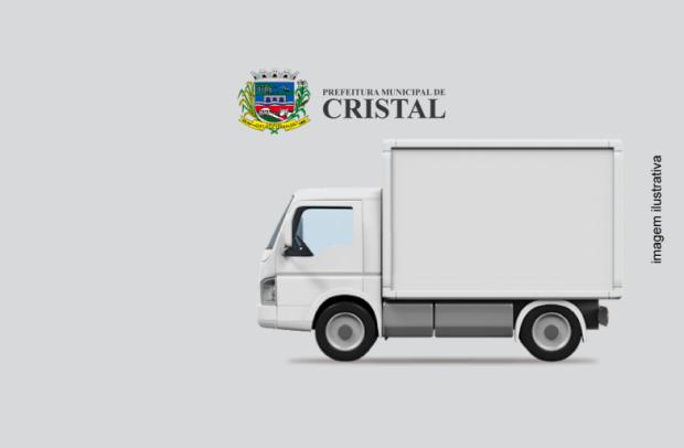 Foto de capa da notícia: O Município de Cristal prepara-se para licitar caminhão baú