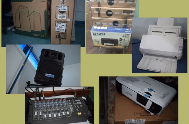 Foto de capa da notícia: Escolas Estaduais do Município adquirem equipamentos