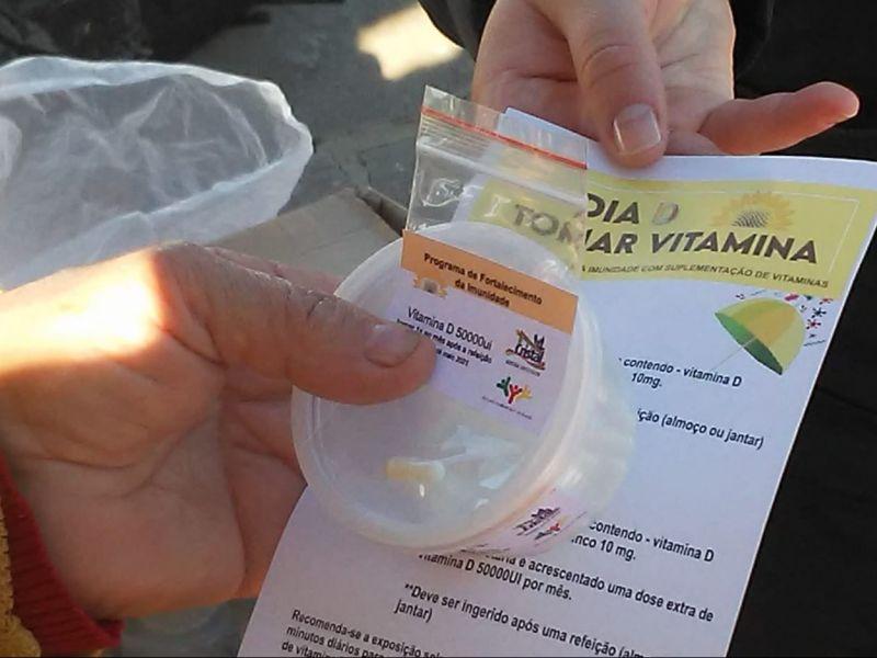 Foto de capa da notícia: Suplementação de Vitamina disponível no SUS de Cristal