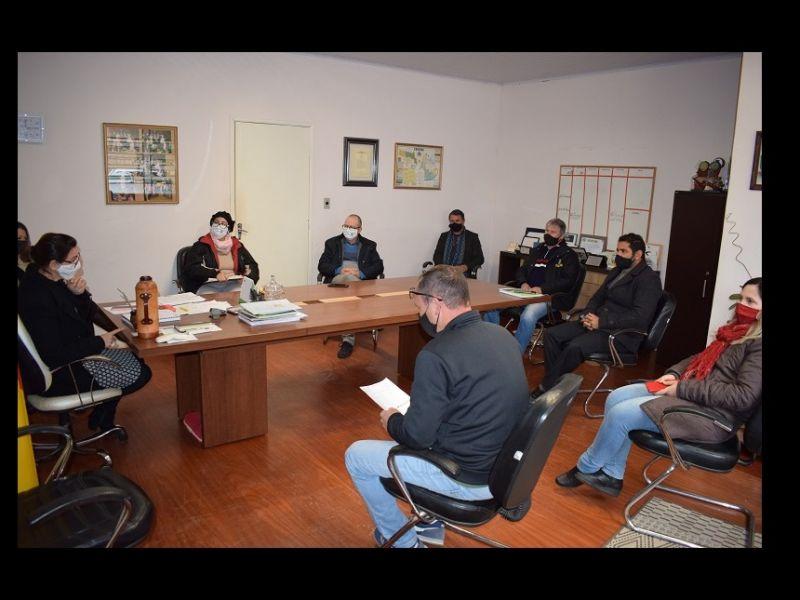 Foto de capa da notícia: Equipe da fiscalização Covid-19 avalia os trabalhos