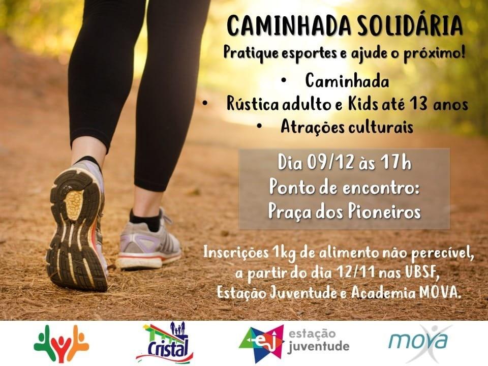 Foto de capa da notícia: Caminhada Solidária