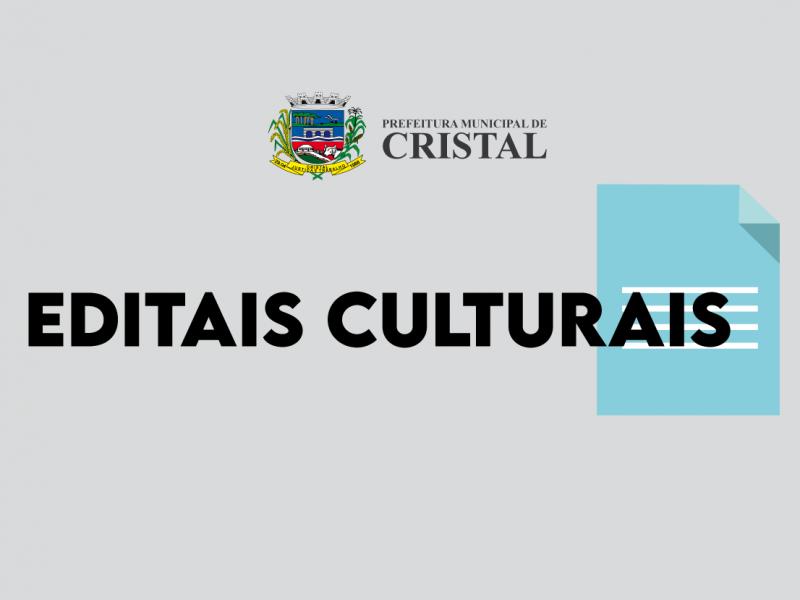 Foto de capa da notícia: Homologação das inscrições no edital Municipal da Cultura