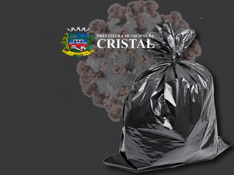 Foto de capa da notícia: Descarte correto de resídos contaminados por COVID-19